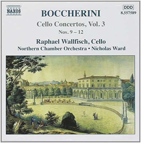 L. Boccherini Cello Concertos Vol. 3 Wallfisch*raphael (vc) Ward Northern Co