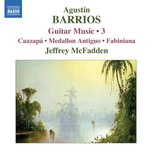 A. Barrios Guitar Music Vol. 3 Mcfadden*jeffrey