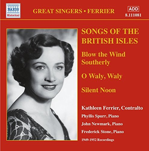 Kathleen Ferrier Songs Of The British Isles Import Eu
