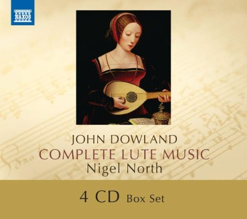 J. Dowland Complete Lute Music North*nigel 4 CD