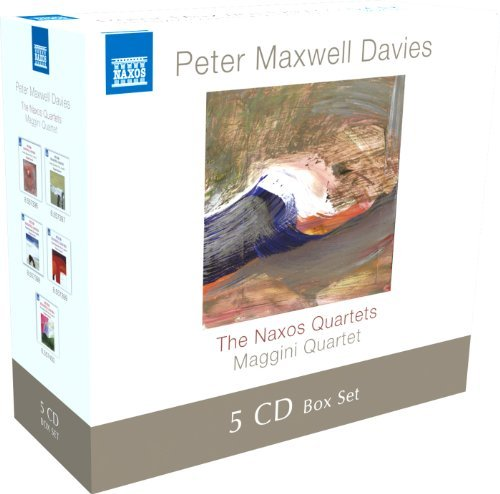 P.M. Davies Naxos Quartets 5 CD Maggini Quartet