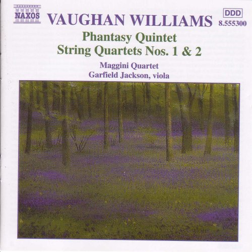 R. Vaughan Williams Phantasy Qnt Qt Str 1 2 Jackson*garfield (va) Maggini Qt