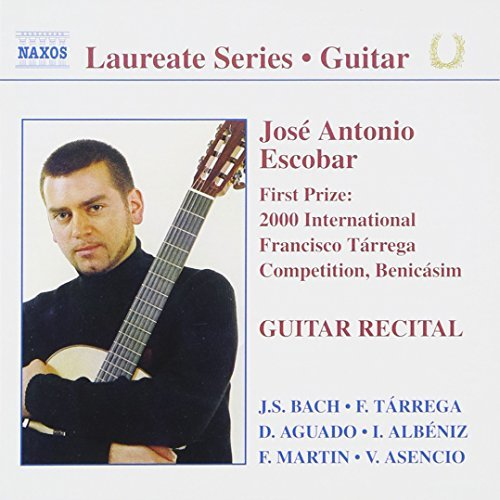 J.A. Escobar Guitar Recital By Jose Antonio Escobart (gtr)