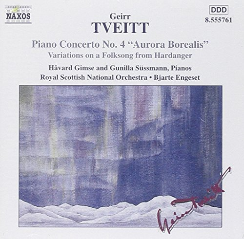 G. Tveitt Con Pno 4 Op. 130 & Gimse (pno) Sussmann (pno) Engeset Royal Scottish Natl Or