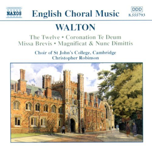 W. Walton Choral Music Whitton*christopher (org) Robinson Choir Of St. John's C