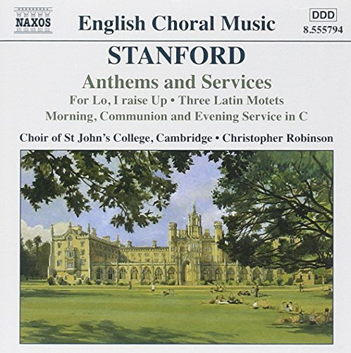 C.V. Stanford Anthems & Services Whitton*christopher (org) Robinson St. John's College Ch