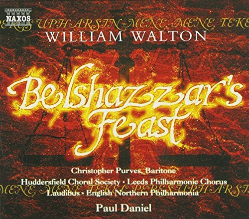 W. Walton Belshazzar's Feast Daniel English Northern Phil