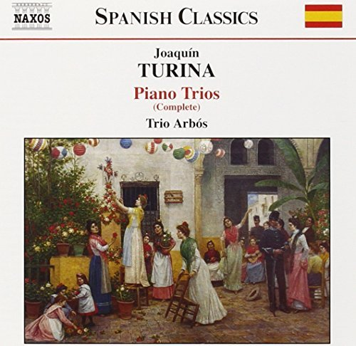 J. Turina Trio Pno 1 (d Major) 2 (bm) Ci Trio Arbos