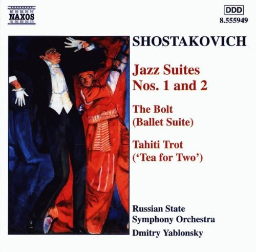 Dmitri Shostakovich Jazz Suites Nos. 1 & 2 Yablonsky Russian State So