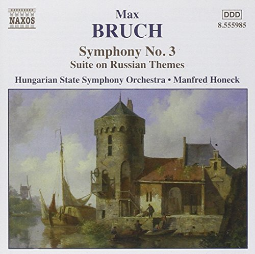 M. Bruch Sym 3 Russian Themes Ste Op. 7 Honeck Hungarian State Orch