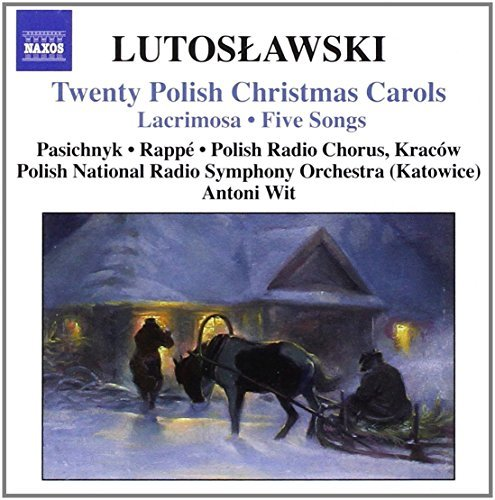 W. Lutoslawski Twenty Polish Christmas Carols Wit Polish Nat Rso