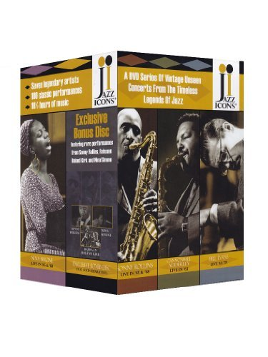Jazz Icons Box Set Jazz Icons Box Set Kirk Hampton Peterson Simone R 7 Dvdplus Bonus Disc