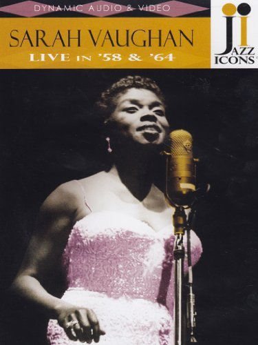 Sarah Vaughan Jazz Icons Sarah Vaughan