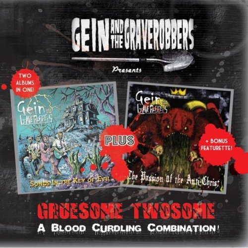 Gein & The Graverobbers Gruesome Twosome 2 CD Set