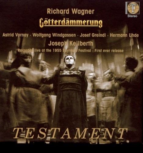 Richard Wagner Gotterdammerung Varnay (sop) Windgassen (ten) 4 CD