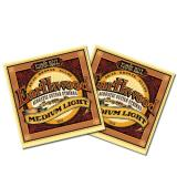 Ernie Ball Earthwood Acoustic Medium Light Guages 12 16 24 32 44 54
