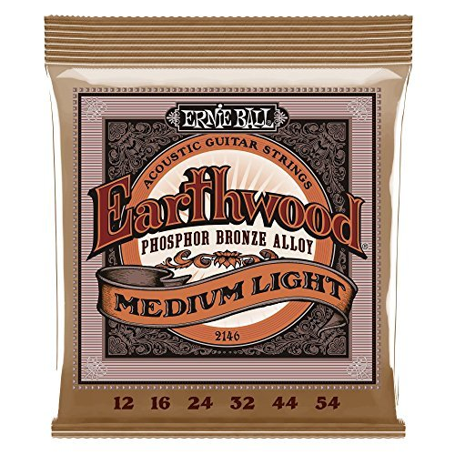 Ernie Ball Regular Acoustic Slinky Guages 12 16 24 32 44 54
