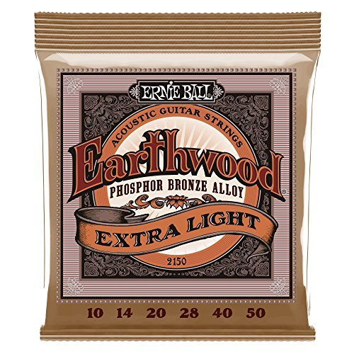 Ernie Ball Extra Acoustic Slinky Guages 10 14 20 28 40 50