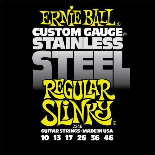 Ernie Ball Stainless Regular Slinky Guages 10 13 17 26 36 46