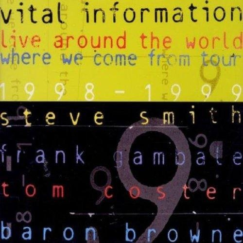 Vital Information Live Around The World 1998 99 Feat. Smith Coster Gambale 2 CD