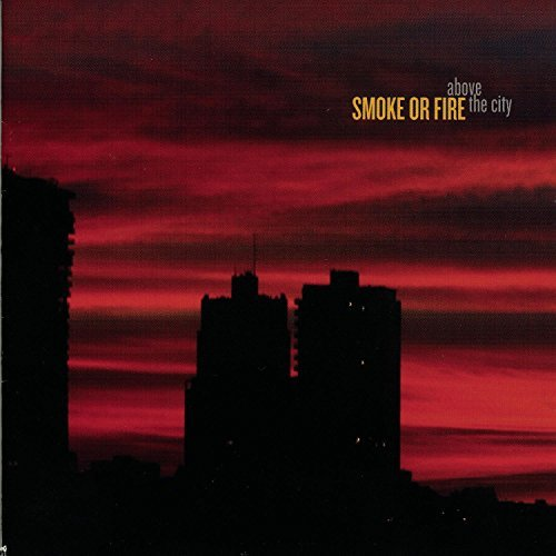 Smoke Or Fire Above The City