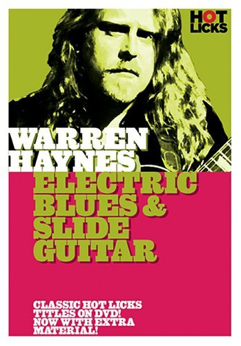 Electric Blues & Slide Guitar Haynes Warren Nr