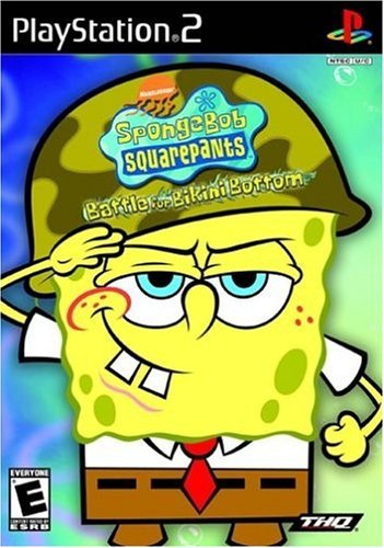 Ps2 Spongebob Squarepants The Batt