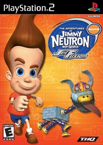 Ps2 Jimmy Neutron Jet Fusion