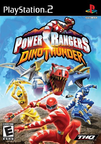 Ps2 Power Rangers Dino Thunder