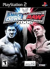 Ps2 Wwe Smackdown Vs Raw 06