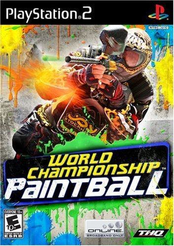 Ps2 World Championship Paintball Thq E10