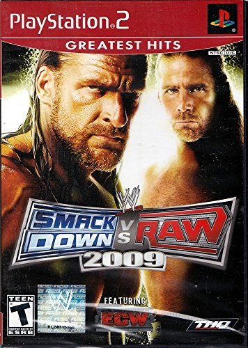 Ps2 Wwe Smackdown Vs. Raw 2009