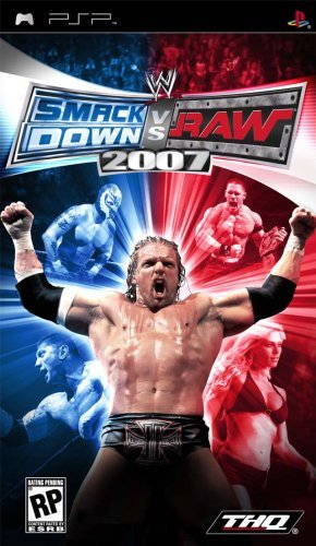 Psp Wwe Smackdown Vs Raw 2007 Thq