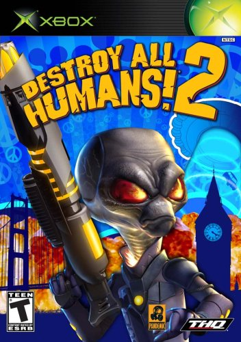 Xbox Destroy All Humans 2