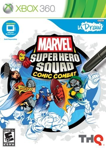 X360 Udraw Marvel Super Hero Squad E10+