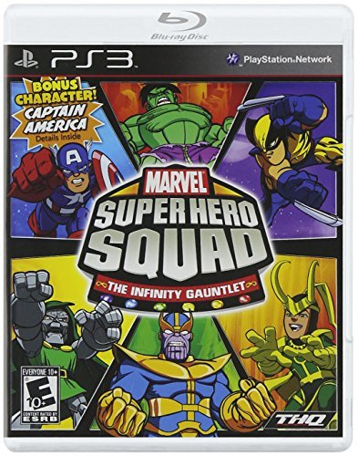 Ps3 Marvel Super Hero Squad The Infinity Gauntlet