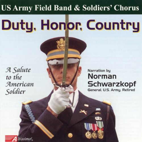 U.S. Army Field Band & Soldier Duty Honor Country Schwarzkopf (nar)