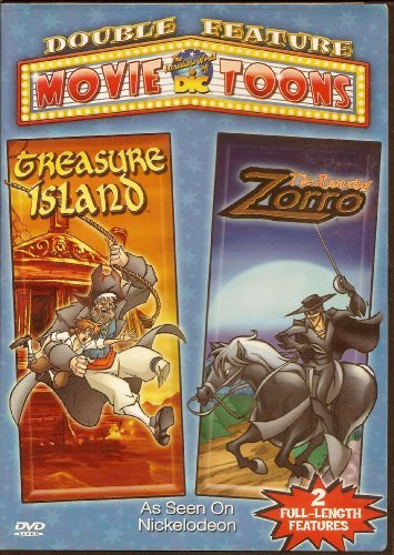 Amazing Zorro Treasure Island Double Feature