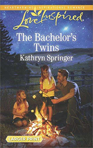 Kathryn Springer The Bachelor's Twins Large Print