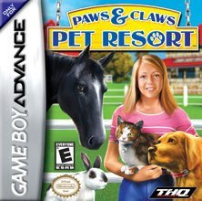 Gba Pet Resort (paw & Claws) For Game Boy Advance