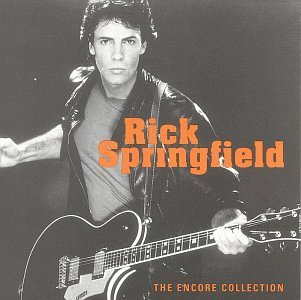 Springfield Rick Rick Springfield Encore Collection