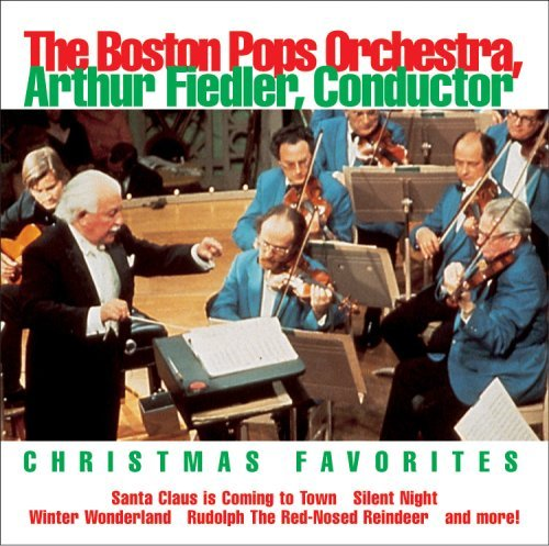Boston Pops Orchestra Christmas Favorites Fiedler Boston Pops Orch