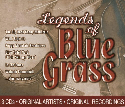Legends Of Bluegrass Legends Of Bluegrass 3 CD