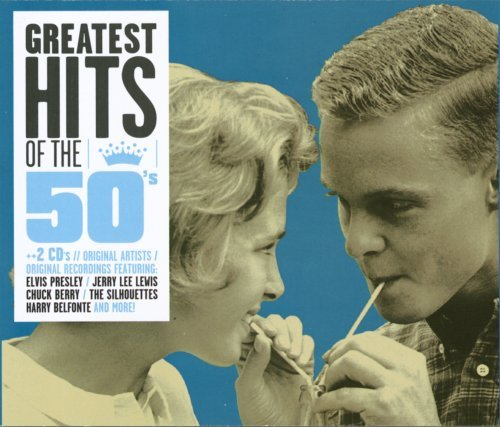 Greatest Hits Of The 50's Greatest Hits Of The 50's Presley Berry Lewis 2 CD Set