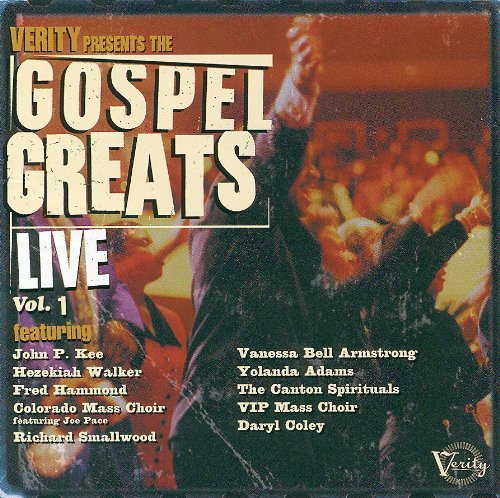 Gospel Greats Live Vol. 1 Gospel Greats Live