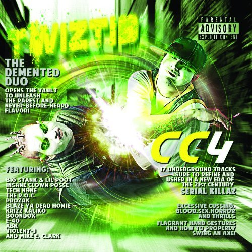 Twiztid Vol. 4 Cryptic Collection Explicit Version