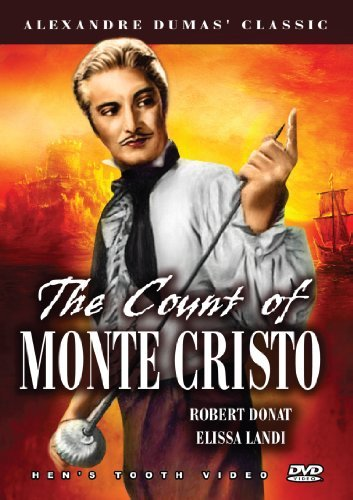 Count Of Monte Cristo (1934) Donat Robert Bw Nr