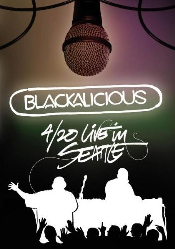 Blackalicious 4 20 Live In Seattle Blu Ray Nr