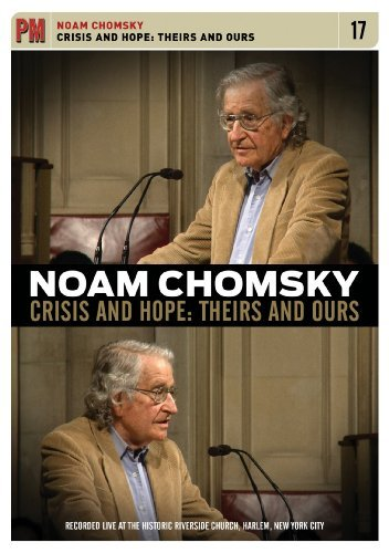Noam Chomsky Crisis & Hope Th Noam Chomsky Crisis & Hope Th Nr