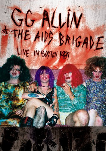 Gg & The Aids Brigade Allin Live In Boston 1989 Nr